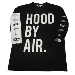 Hood by Air Graphic Long Sleeve T Shirt